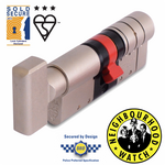 ERA Fortress 3 Star Euro Thumbturn Cylinder - Maximum Security